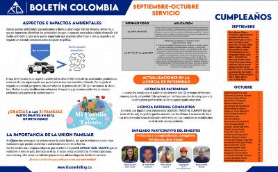 Boletín Septiembre – octubre